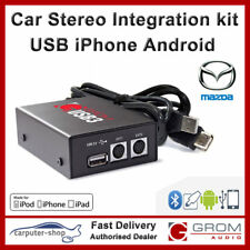 GROM USB MP3 iPod iPhone Samsung HTC Car Interface kit for MAZDA 3 5 6 MX5 RX-8