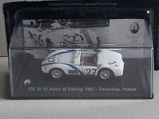 Maserati 200 SI 12 H de Sebring 1957. Reventlow & Pollack, partie fonctionne. (HD42)