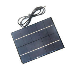 3.5W 5V 0-700mA Foldable Solar Panel Charger For Mobile Phone 18650 Battery DA