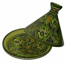Moroccan Tagine Tajine Tangine Pot Large Ceramic Serving Cookware Dish Clay New