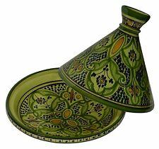 Moroccan Tagine Tajine Tangine Pot Large Ceramic Serving Cookware Dish Clay New