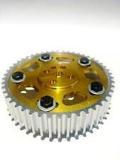 HYPERCAM ADJUSTABLE CAM GEAR for HOLDEN COMMODORE VL RB30 TURBO - GOLD