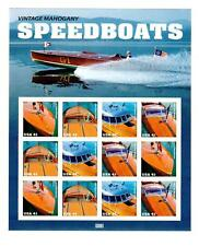 Gar-Wood Chris-Craft Hutchinson Hacker Craft 1915-1954 page of New Stamps(12)