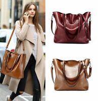 Women Leather Handbags Pouch Tote Shoulder Messenger Satchel Bags Purse Handbag