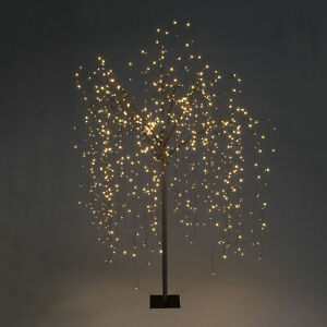 Christmas Xmas Weeping Willow Tree with Warm White LEDs