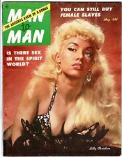 MAN to MAN v5 #2 May 1954 BUNNY YEAGER Lilly Christine A-BOMB Sex Slave TATTOO