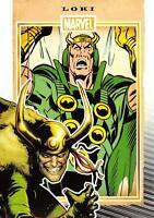 LOKI / Marvel 75th Anniversary (2014) BASE Trading Card #46