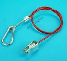 Breakaway Cable with Clevis Pin Fitting for Ifor Williams Trailer Horse Box