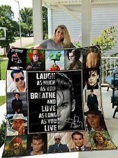 Johnny Depp Quilt Blanket Great Gift For Relatives And Friends