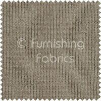 Brick Effect Soft Velvet Jumbo Cord Upholstery Curtains Sofas Fabric Slate Grey