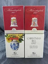 3 x Weihnachtsglocken und 1 x Weihnachts Kugeln Hutschenreuther in OVP