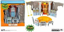 "McFarlane Toys DC Retro Batman 66 - Batcave Playset 6"" Inch Action Figure Playse"
