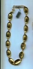 OROTON PEARL OVAL GOLD NECKLACE