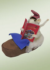 Byers Choice Bedtime Mouse in Suede Like Slipper New Store Stock Adorable!