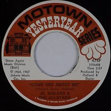 JR. WALKER & ALL STARS: Come See About Me / Hip City MOTOWN Soul Classic 45 NM-