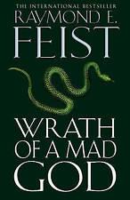 Darkwar (3) - Wrath of a Mad God, Feist, Raymond | Hardcover Book | Good | 97800