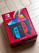 Nintendo Switch OLED-Modell - 64GB - Schwarz/Neon-Blau