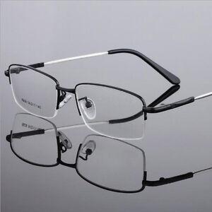 Reading Glasses +0.50 +0.75 +1.00 +1.50 +2.00 to +6.00 Memory Alloy Half Frame