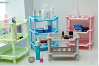 Storage Shelves,Plastic Small Storage Shelves - 3 Tier Shelf Shelving,Kitch F6P7