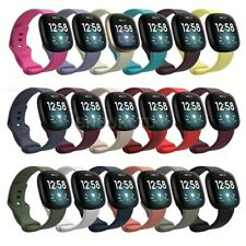 For Fitbit Sense Silicone Fitness Wrist Band Strap Replacement