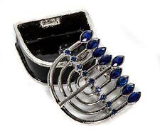 Olivia Riegel Menorah crystals multi gems Jewelry Treasure Box