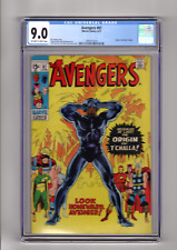 Avengers 87 CGC 9.0 Marvel Comics (1971) Origin of Black Panther
