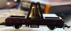 Marklin Z 88608 Mini-Club Bell Car Lower Board Trolley - LNIB