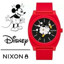 Genuine Nixon Time Teller Disney Mickey Mouse Watch Limited Edition Unisex Mens