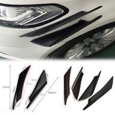 4x Universal Coche Delantero Parachoques Labio Divisor aletas Cuerpo Spoiler patrañas Para BMW VW