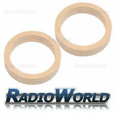 "6.5"" 165mm MDF Speaker Spacer Mounting Rings 36mm Thick ID 144mm ED 177mm Pair"