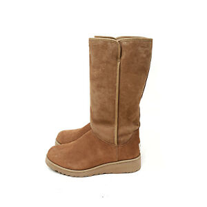 UGG Australia Kara Classic Tall Slim Boot Chestnut Brown Size US: 8 / EU: 39