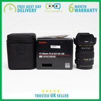 *Mint* Sigma 17-50mm f/2.8 EX DC OS HSM Zoom Lens for Nikon - 6 Month Warranty