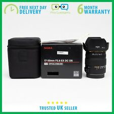 *Mint* Sigma 17-50mm f/2.8 EX DC OS HSM Zoom Lens for Nikon - 6 Month Warranty