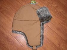 BNWT Julios Chicos Invierno Jnr oran Sepia Piel Forrada Sherpa Sombrero. una talla. RRP £ 24.95