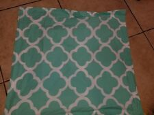 "Pb Teen ""Lucky Clover - Pool"" Reversible Euro Pillow Sham"