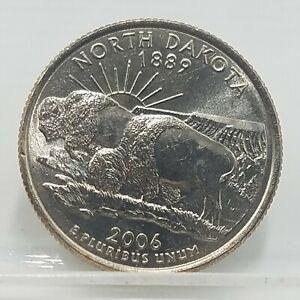 2006 North Dakota Quarter | Denver | 25 cent Statehood Quarter Coin