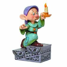 FIGURE DISNEY TRADITIONS SNOW WHITE AND SEVEN DWARF 7 DOPEY STATUE RESIN #1