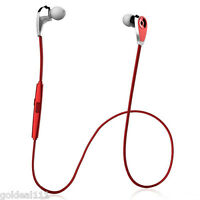 Wireless Bluetooth Sport Headset Stereo Earphone Headphone For iPhone-Samsung-LG