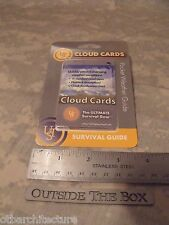 Ultimate Survival Technologies: Cloud Cards, Learning Guide, UST, 11 Cards