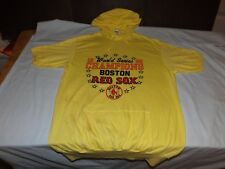 Authentic Vintage Boston Red Sox 1986 World Series Yellow Hooded T-Shirt