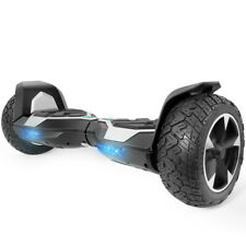 """Bluetooth Hoverboard UL Certified 8.5"""" Self Balancing Electric Scooter Silver"""