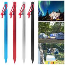 20x Tenda da sole pali per tenda anelli con 2 PIN Campeggio