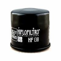 FILTRO OLIO HIFLO HF138 OMOLOGATO TUV SUZUKI 1200 GSF BANDIT 1996-2006