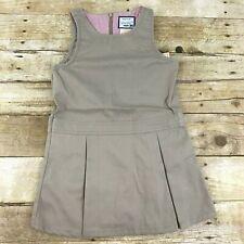 Gymboree School Uniform Girls Size 12 Khaki Jumper Play Proof NWT