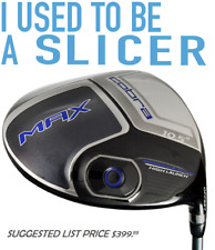 #1 COBRA MAX OFFSET-SLICE KILLER DRAW Stiff Flex 10.5° ANTI-SLICE DRIVER