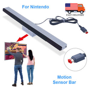 Wired Remote Motion Infrared Sensor Bar IR Ray Inductor for Nintendo Wii Wii U
