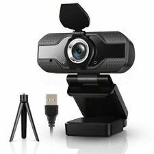 HD Webcam 1080P Kamera USB 2.0 Mit Mikrofon für Computer Laptop PC Windows Mac