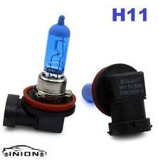 2x H11 Kit 100W Xenon Óptica Gas Halógena Blancas Super Claro
