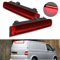 L&R High Level 3rd Rear Brake Light For VW Volkswagen Transporter T5T6 Barn Door