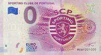 BILLET 0  EURO SPORTING CLUBE DE PORTUGAL 2018  NUMERO 1000